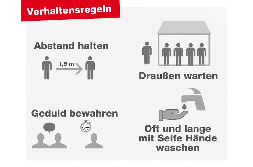 Heine Apotheke Verhaltensregeln